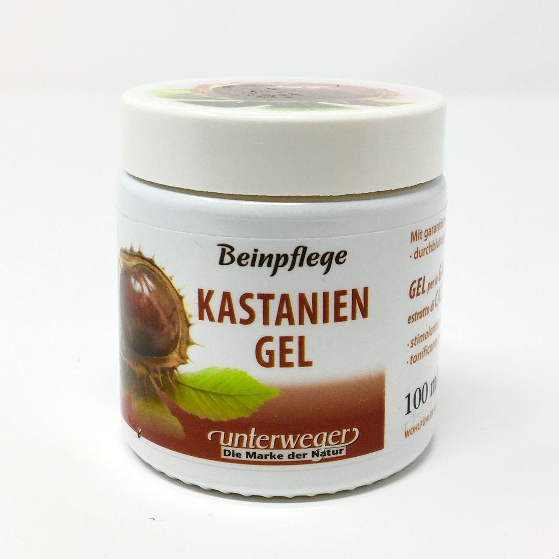 Unterweger BEINPFLEGE Kastanien/Gel/100 ml