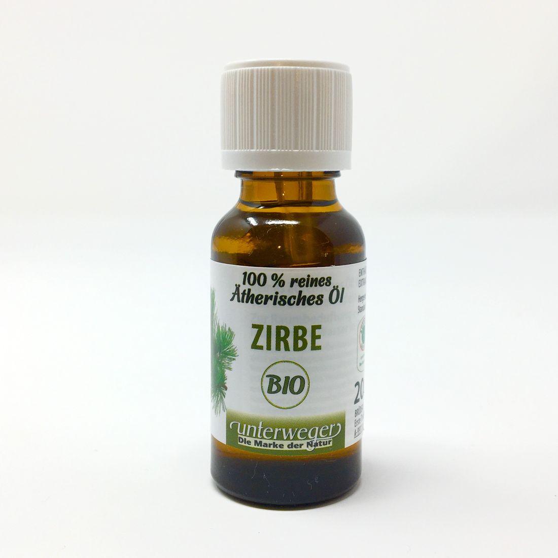 Unterweger BIO Zirbenöl 20 ml