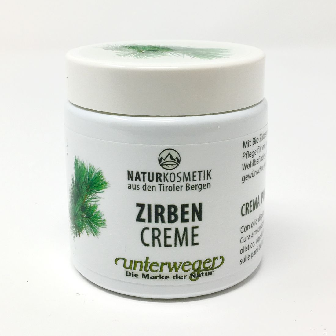Unterweger HARMONIE Zirben/Creme/100ml