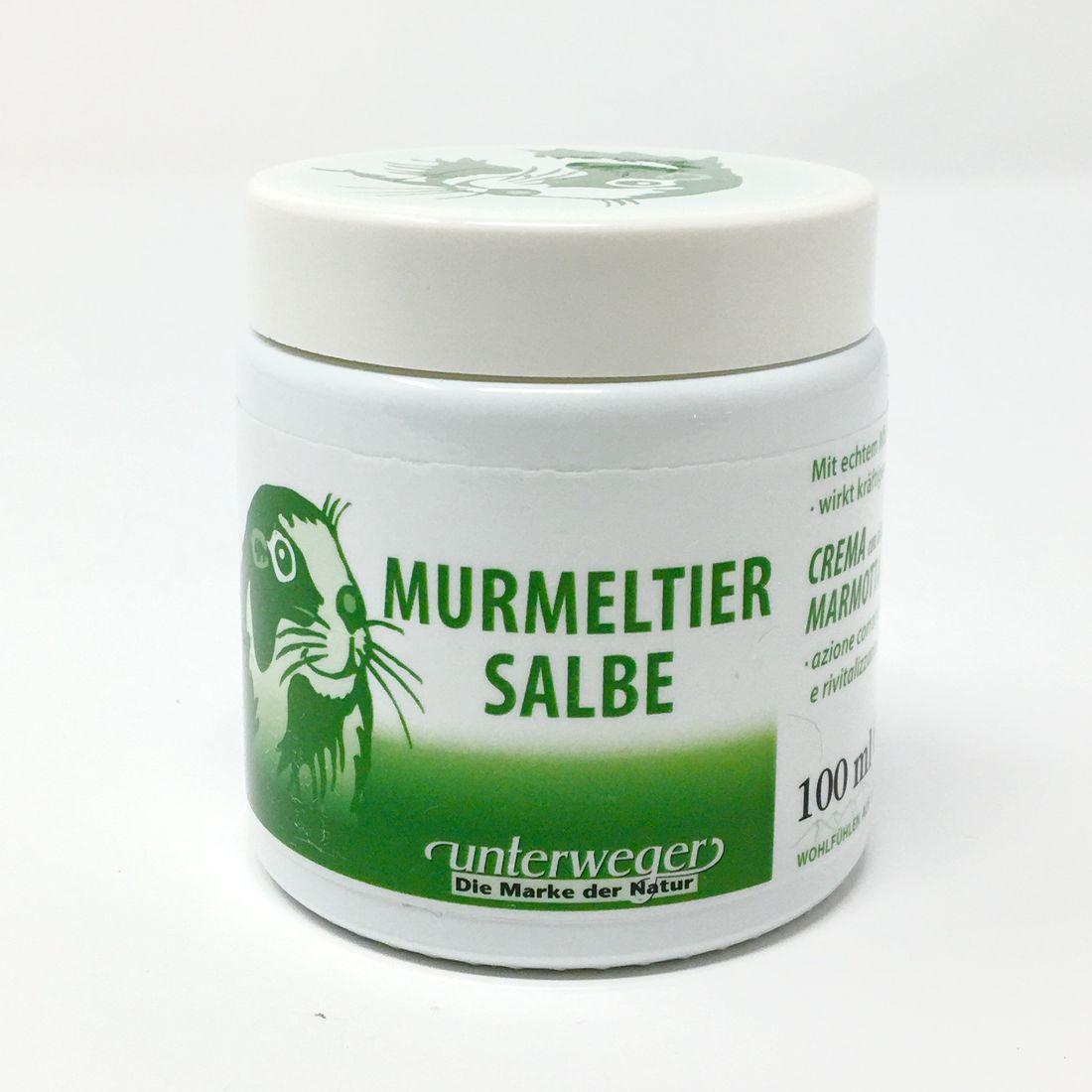 Unterweger Murmeltier Salbe 100ml