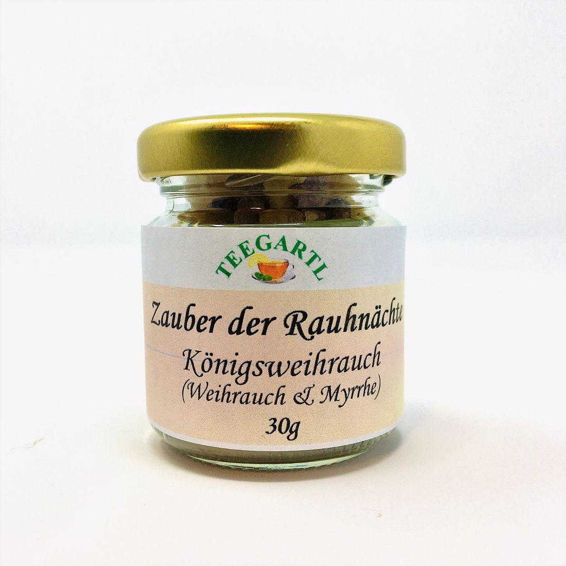 Zauber der Rauhnächte - Königsweihrauch mit MYRRHE 30g