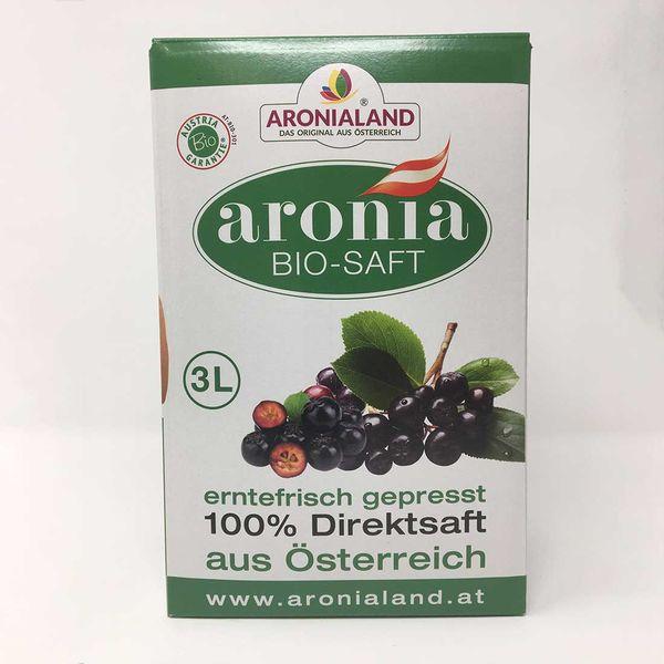 Aronia BIO - SAFT 3 L BOX
